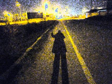 Resultado de imagen para cuerpo humano haciendo sombra sobre el suelo
